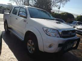 2009 Toyota hilux 3.0d4d manual double cab immaculate condition