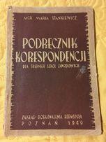 Stankiewicz - Podręcznik korespondencji z 1949 - PRL