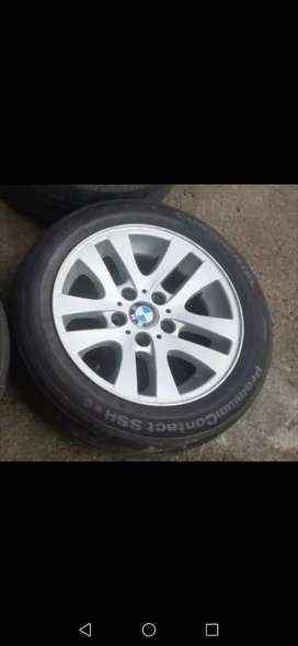Bmw Rims a set with tyres