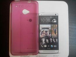 Чехол на телефон накладка силиконовая HTC one