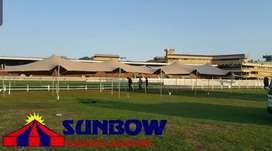 Sunbow stretch tents, outdoor stretch tents, fancy tents