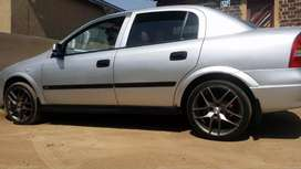 Opel Astra G in good condition including the papers