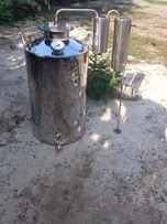 Емкость с дистиллятором, куб 25 литров