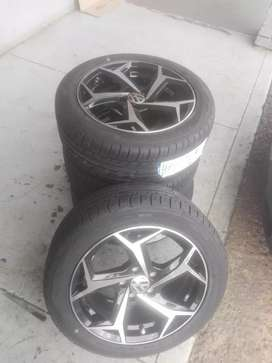 Polo vivo and tsi alloy mags and tyres new