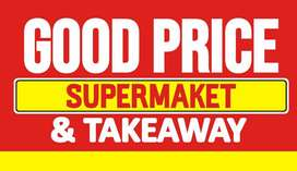 Supermarket and Takeway in marshalltown
