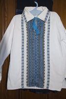вишита сорочка 5-7 років, р.128 прокат для хлопчика