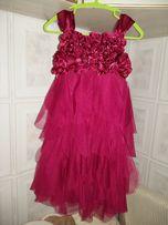 Новое нарядное платье для девочки 4х лет