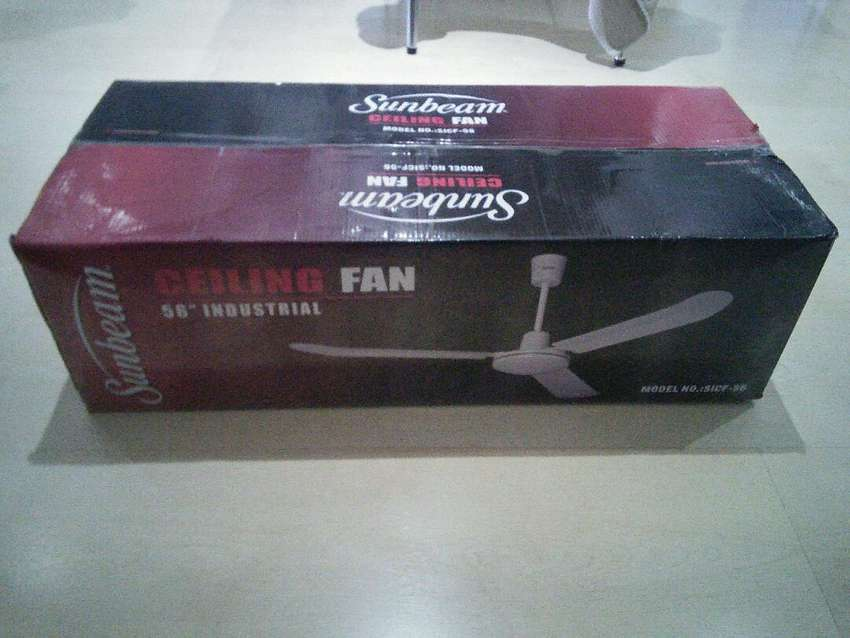 New Industrial ceiling fans, No light 0