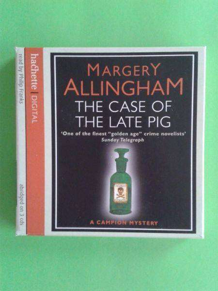 The Case Of The Late Pig - Margery Allingham - Read by Philip Franks. 0
