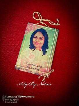 Personalized wooden photo transfer