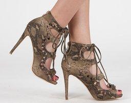 nowe sandałki gladiatorki na szpilce rozmiar 38