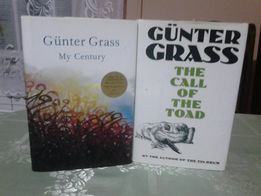 """Gunter Grass """" My Century"""", """"The call of the Toad"""""""
