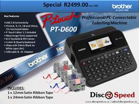 Brother PT-D600 Professional PC labelling machine