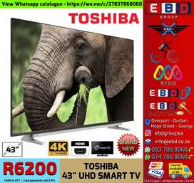Toshiba 43 inch UHD SMART TV