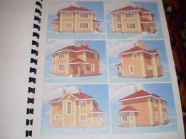 Проект дома 2 этажа с камином 145 квадратов