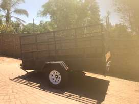 Box Trailer 1.7 Ton Axle New Tyre's