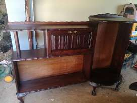 Ball & Claw Wall Cabinet & Bedroom Suit