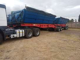Fairly New Side Tipper Trailer