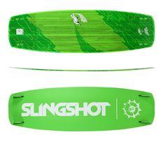 kitesurfing- deska slingshot crisis 146 cm