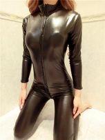 Секс - костюм Комбинезон под кожу латекс винил S/M/L/XL/XXL/XXXLновые!