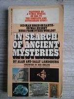 In search of ancient mysteries, książka w j. angielskim