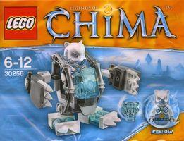 Lego Chima 30256 Iceklaw Lodowy Niedźwiedź Ice Bear Mech
