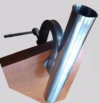 Подставка для удилищ из нержавейки со струбциной для крепления на тран