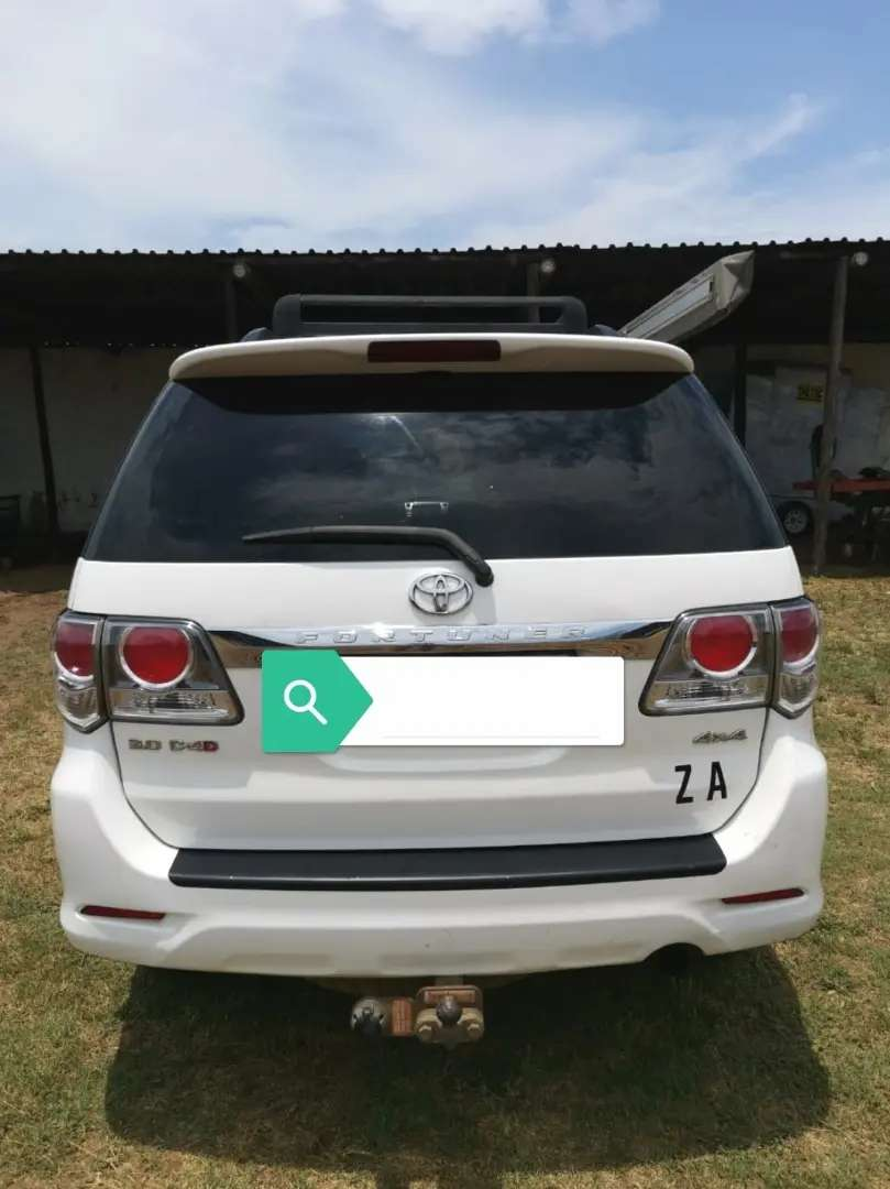 4x4 Toyota Fortuner  A/T 3.0D4D 0