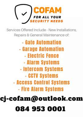 Cofam - Security Systems & Automations
