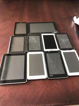 Job lot broken tablets for repairs or spares