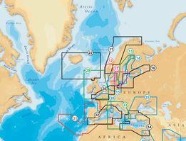 Карта NAVIONICS Platinum+ для эхолотов Lowrance, Raymarine, Humminbird