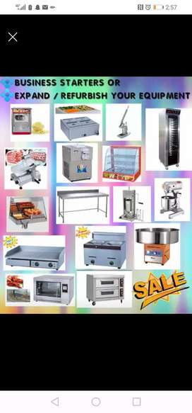 Take away butcher bakery and refrigeration equipment
