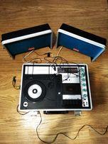 Портативный музыкальный центр Vintage Crown SCP-77FW (1970) рабочий