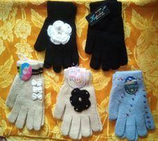 Женские/детские шерстяные перчатки дешево