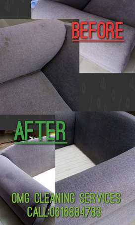 Upholstery Deep cleaning and shampooing