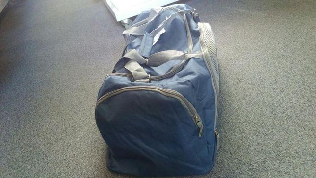 Torba podróżna duża dwa kolory fiolet granat nowa bagaż na podróż Hit Sierakowice - image 7