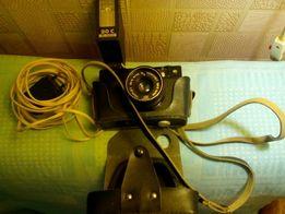 Фотоаппарат СССР со вспышкой