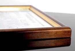 Рамка А4 Фоторамка 21х30 для грамот дипломов сертификатов а3,а5,10х15