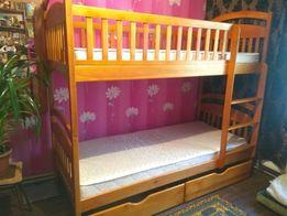 Только к Новому году Скидка на кровать двухъярусная Карина с дерева .