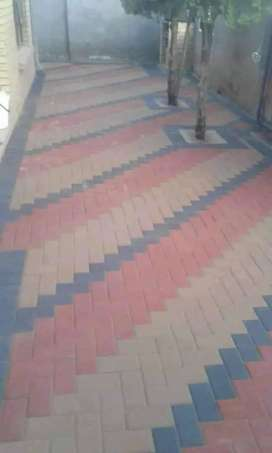 Paving and tilling