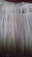 Наращивание волос, изготовление тресса, шиньона из натуральных волос.