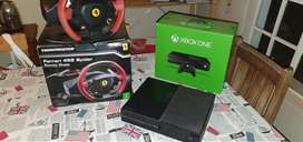 XBox One 500GB with Racing stuff PLUS optional TV at R1000 xtra!!