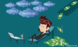 Репетитор индивидуально php, bootstrap, html, javascript