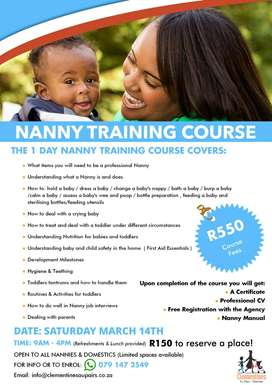 Nanny and Childcare Training
