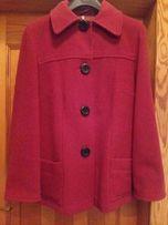 Czerwony plaszczyk, kurtka fluszowa L