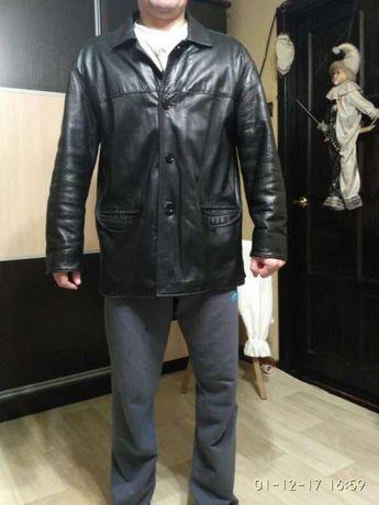 Чоловіча шкіряна куртка 52-го розміра. Львов - изображение 1