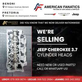 We are selling used Jeep Cherokee 3.7 Cylinder Heads, Visit us today!