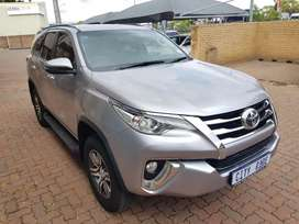 Toyota fortuner 2.7ltr,full service history, Spare key