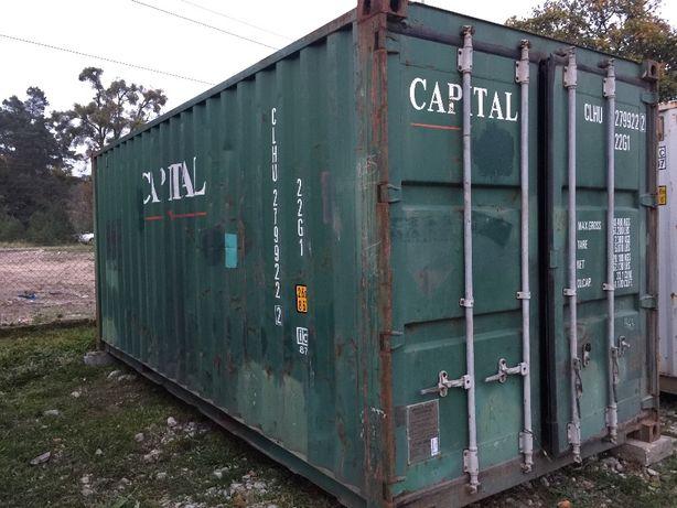 Kontener kontenery morski magazynowy 20 DV 6m CAŁA POLSKA od 6500 PLN Łódź - image 2