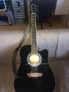 Brand New Washburn Acoustic Guitar
